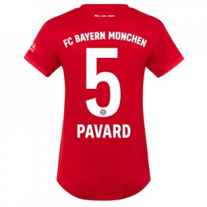 FC Bayern Home Shirt 2019-20 - Womens with Pavard 5 printing