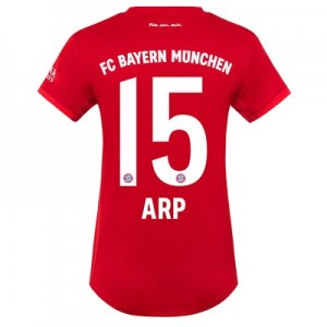 FC Bayern Home Shirt 2019-20 - Womens with Arp 15 printing