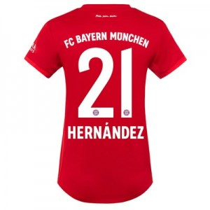FC Bayern Home Shirt 2019-20 - Womens with Hernández 21 printing