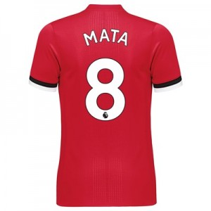 Manchester United Home Adi Zero Shirt 2017-18 with Mata 8 printing