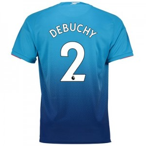 Arsenal Away Shirt 2017-18 - Outsize with Debuchy 2 printing