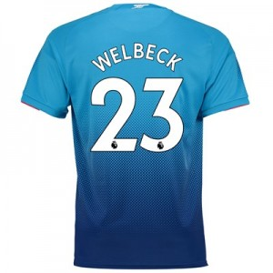 Arsenal Away Shirt 2017-18 - Outsize with Welbeck 23 printing