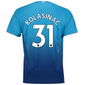 Arsenal Away Shirt 2017-18 - Outsize with Kolasinac 31 printing