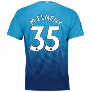 Arsenal Away Shirt 2017-18 - Outsize with Mohamed Elneny 35 printing