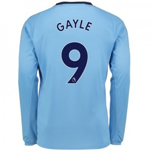 Newcastle United Away Shirt 2017-18 - Long Sleeve with Gayle 9 printing