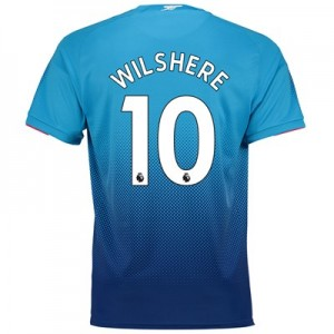 Arsenal Away Shirt 2017-18 - Outsize with Wilshere 10 printing