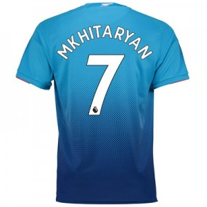 Arsenal Away Shirt 2017-18 - Outsize with Mkhitaryan 7 printing