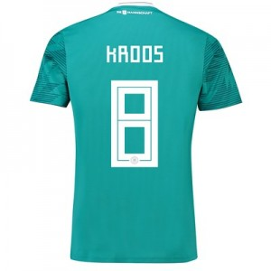 Germany Away Shirt 2018 with Kroos 8 printing