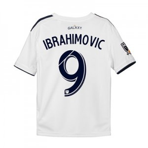 LA Galaxy Home Shirt 2018 - Kids with Ibrahimovic  9 printing
