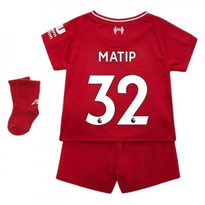 Liverpool Home Baby Kit 2018-19 with Matip 32 printing