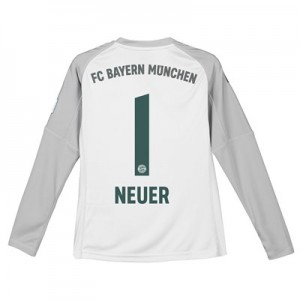 Bayern Munich Home Goalkeeper Shirt 2018-19 - Kids with Neuer 1 printing