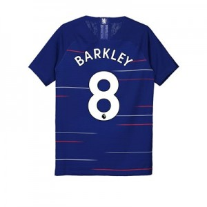 Chelsea Home Vapor Match Shirt 2018-19 - Kids with Barkley 8 printing
