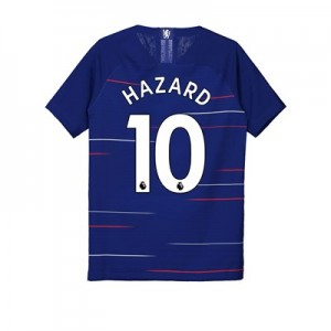 Chelsea Home Vapor Match Shirt 2018-19 - Kids with Hazard 10 printing