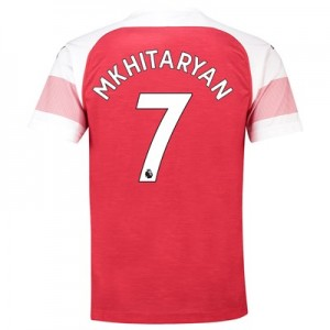 Arsenal Home Shirt 2018-19 - Outsize with Mkhitaryan 7 printing