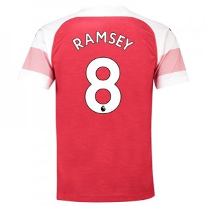 Arsenal Home Shirt 2018-19 - Outsize with Ramsey 8 printing