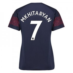 Arsenal Away Shirt 2018-19 - Womens with Mkhitaryan 7 printing