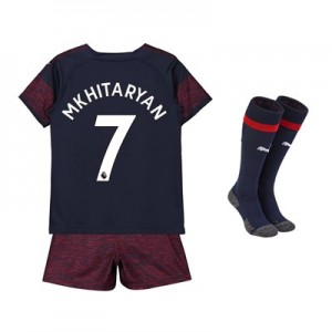 Arsenal Away Mini Kit 2018-19 with Mkhitaryan 7 printing