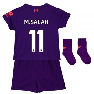 Liverpool Away Baby Kit 2018-19 with M.Salah 11 printing