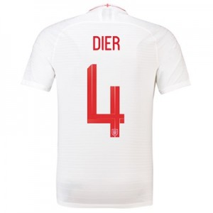England Home Vapor Match Shirt 2018 with Dier 4 printing