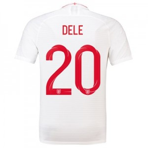 England Home Vapor Match Shirt 2018 with Dele 20 printing