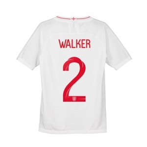 England Home Vapor Match Shirt 2018 - Kids with Walker 2 printing