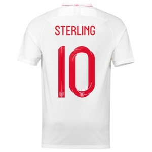 England Home Stadium Shirt 2018 with Sterling 10 printing
