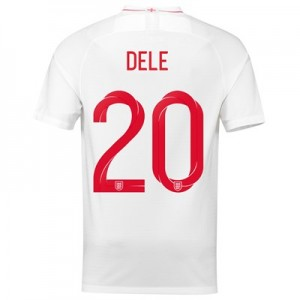 England Home Stadium Shirt 2018 with Dele 20 printing