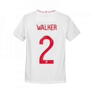 England Home Stadium Shirt 2018 - Kids with Walker 2 printing