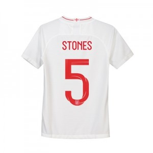 England Home Stadium Shirt 2018 - Kids with Stones 5 printing