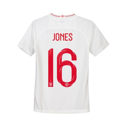 England Home Stadium Shirt 2018 - Kids with Jones 16 printing