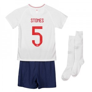 England Home Stadium Kit 2018 - Infants with Stones 5 printing