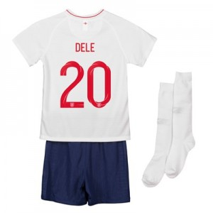 England Home Stadium Kit 2018 - Infants with Dele 20 printing