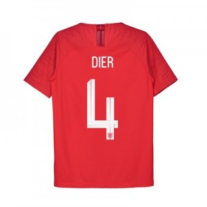 England Away Vapor Match Shirt 2018 - Kids with Dier 4 printing