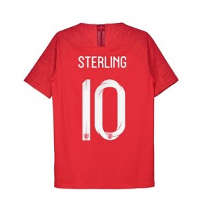 England Away Vapor Match Shirt 2018 - Kids with Sterling 10 printing