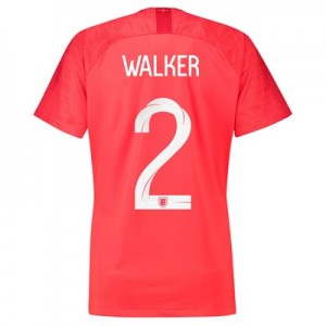 England Away Stadium Shirt 2018 - Womens with Walker 2 printing