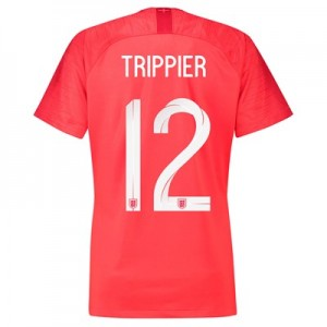 England Away Stadium Shirt 2018 - Womens with Trippier 12 printing