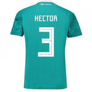 Germany Away Shirt 2018 with Hector 3 printing