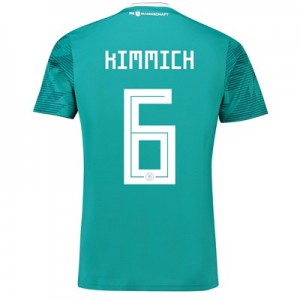Germany Away Shirt 2018 with Kimmich 6 printing
