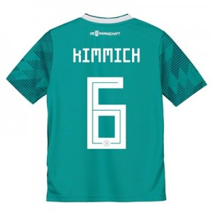 Germany Away Shirt 2018 - Kids with Kimmich 6 printing