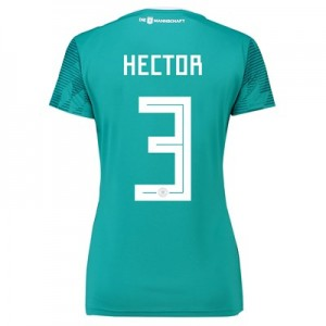 Germany Away Shirt 2018 - Womens with Hector 3 printing