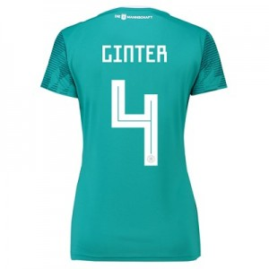 Germany Away Shirt 2018 - Womens with Ginter 4 printing