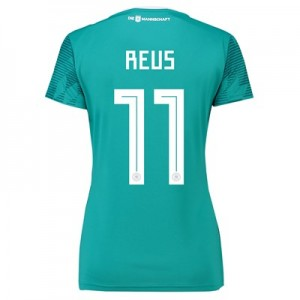 Germany Away Shirt 2018 - Womens with Reus  11 printing
