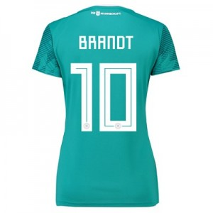 Germany Away Shirt 2018 - Womens with Brandt 10 printing