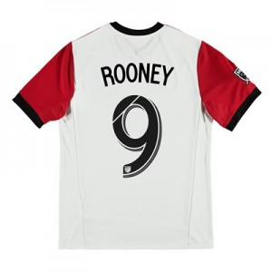 DC United Away Shirt 2018 - Kids with Rooney 9 printing