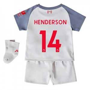 Liverpool Third Baby Kit 2018-19 with Henderson 14 printing