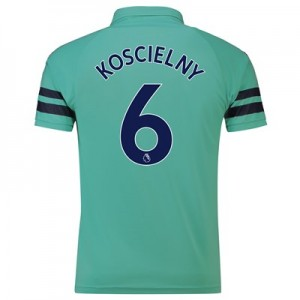 Arsenal Third Shirt 2018-19 - Outsize with Koscielny 6 printing