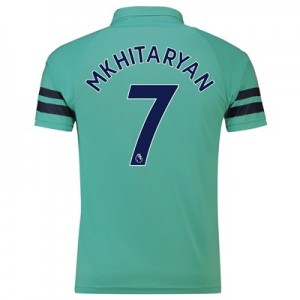 Arsenal Third Shirt 2018-19 - Outsize with Mkhitaryan 7 printing