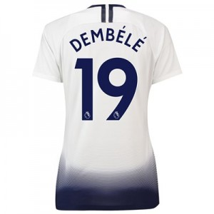 Tottenham Hotspur Home Stadium Shirt 2018-19 - Womens with Dembélé 19 printing