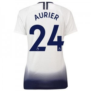 Tottenham Hotspur Home Stadium Shirt 2018-19 - Womens with Aurier 24 printing