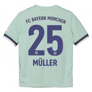 Bayern Munich Away Shirt 2018-19 - Womens with Müller 25 printing